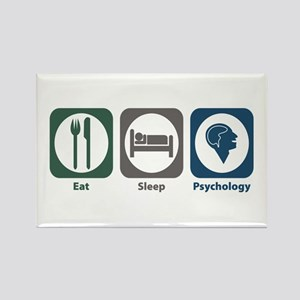 Eat Sleep Psychology Rectangle Magnet