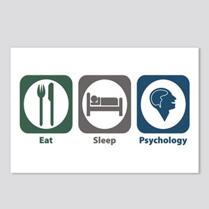 Eat Sleep Psychology Postcards (Package of 8)