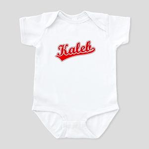 Retro Kaleb (Red) Infant Bodysuit