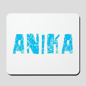Anika Faded (Blue) Mousepad
