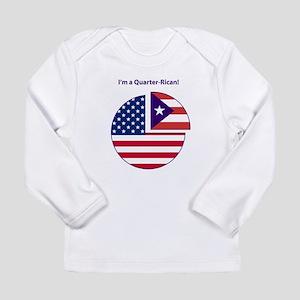 Quarter Rican Long Sleeve T-Shirt