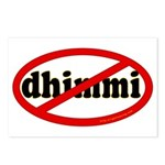No Dhimmi Postcards (Package of 8)