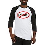 No Dhimmi Baseball Jersey