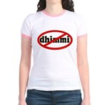 No Dhimmi Jr. Ringer T-Shirt