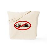 No Dhimmi Tote Bag