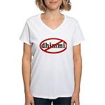No Dhimmi Women's V-Neck T-Shirt