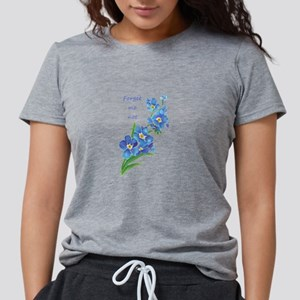 Forget-Me-Not Watercolor Flower & Quote T-Shirt