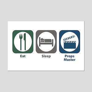 Eat Sleep Props Master Mini Poster Print