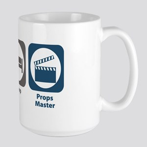 Eat Sleep Props Master Large Mug