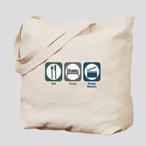 Eat Sleep Props Master Tote Bag