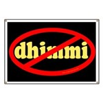 No Dhimmi Banner