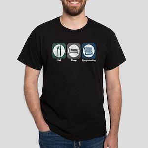Eat Sleep Programming Dark T-Shirt