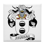 Requena Family Crest Tile Coaster