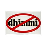 No Dhimmi Rectangle Magnet (100 pack)