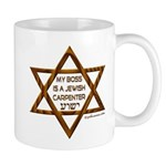 My Boss Is A Jewish Carpenter Mug