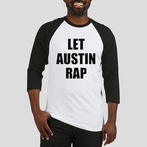 Let Austin Rap Baseball Jersey