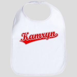 Retro Kamryn (Red) Bib