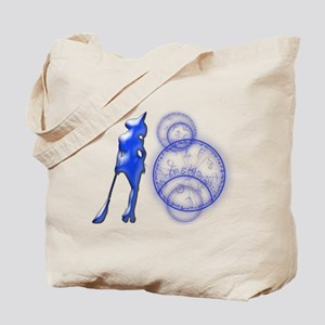 Witching Circles Alt. Blue Tote Bag