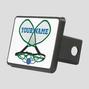 Personalized Racquetball Hitch Cover