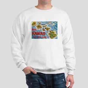 Hawaii Postcard Sweatshirt