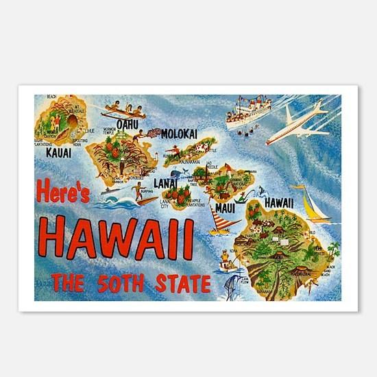 Hawaii Postcard Postcards (Package of 8)