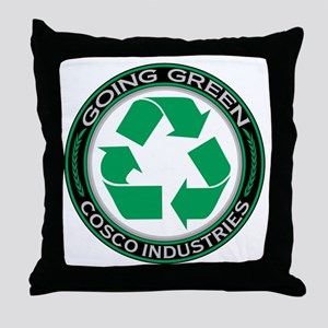 Going Green Recycle, Cosco Industries Throw Pillow