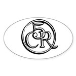 5CR Oval Sticker