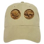 Nickel Indian-Buffalo Cap