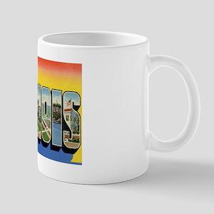 Illinois Postcard Mug