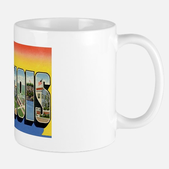 Illinois Postcard Mug