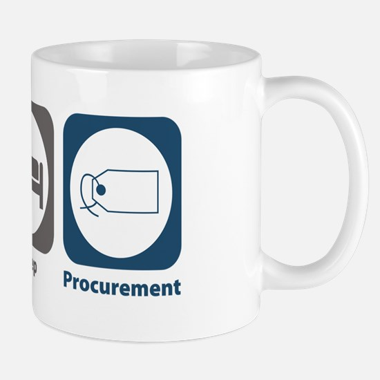 Eat Sleep Procurement Mug