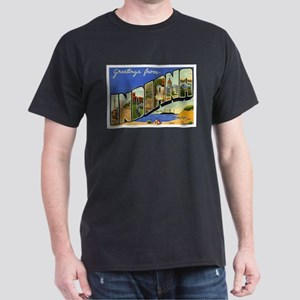 Indiana Postcard Dark T-Shirt