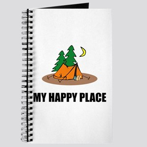 My Happy Place Camping Tent Journal