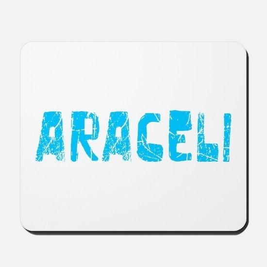 Araceli Faded (Blue) Mousepad