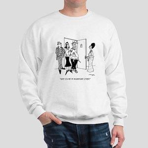Relationship Cartoon 2491 Sweatshirt