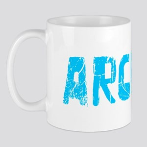 Archie Faded (Blue) Mug