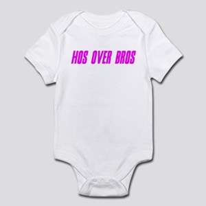 """Hos Over Bros Remix"" Infant Bodysuit"