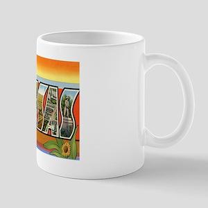 Kansas Postcard Mug