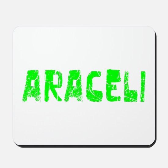 Araceli Faded (Green) Mousepad