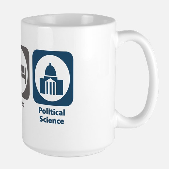 Eat Sleep Political Science Large Mug
