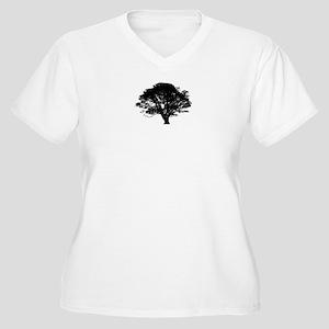 Solo Simplicity Women's Plus Size V-Neck T-Shirt