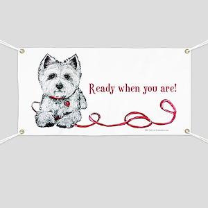 Westhighland White Terrier Re Banner