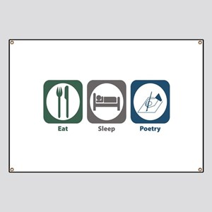 Eat Sleep Poetry Banner