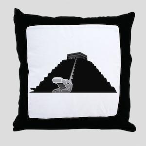 El Castillo Throw Pillow