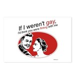 If I Weren't Gay Postcards (Package of 8)