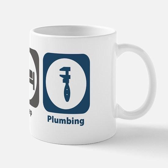 Eat Sleep Plumbing Mug
