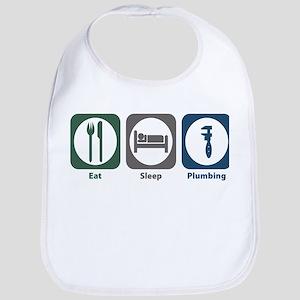 Eat Sleep Plumbing Bib
