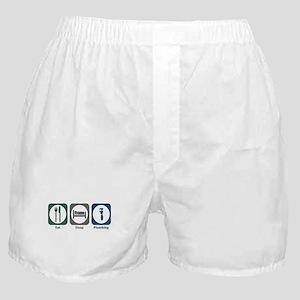Eat Sleep Plumbing Boxer Shorts