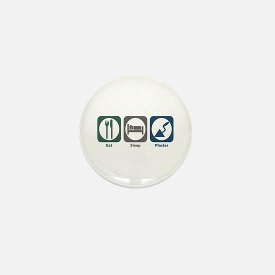 Eat Sleep Plaster Mini Button