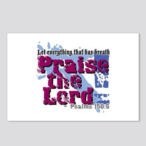 Psalms 150:6 Postcards (Package of 8)